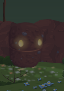 Their eyes glow at night to help you find them in the dark.